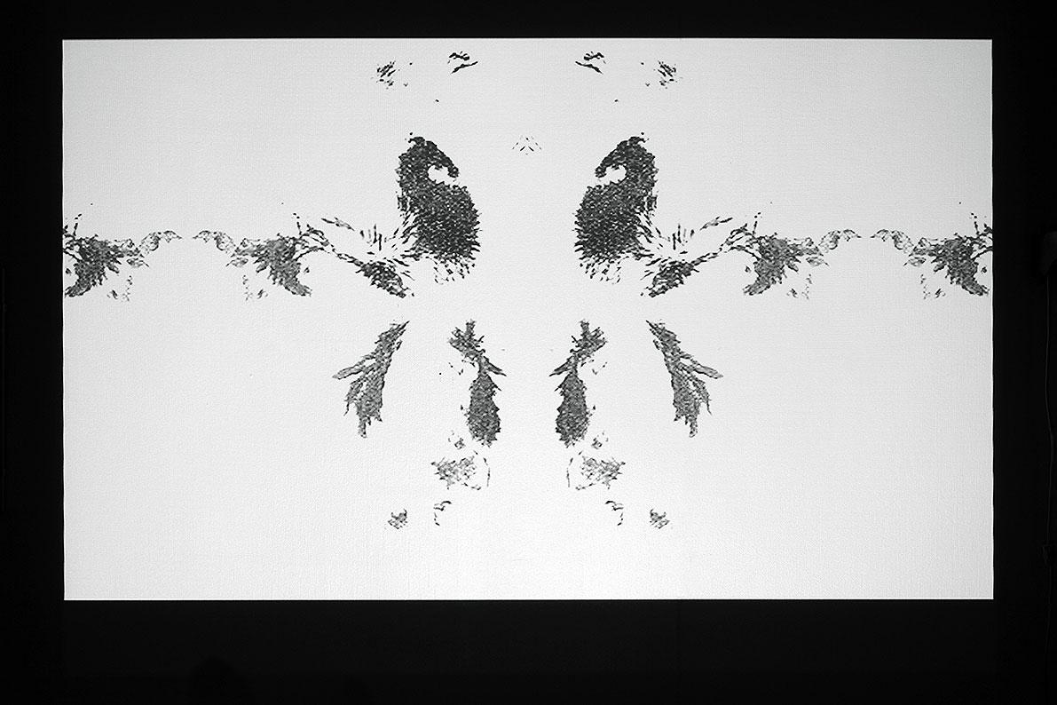 Dust II, projection