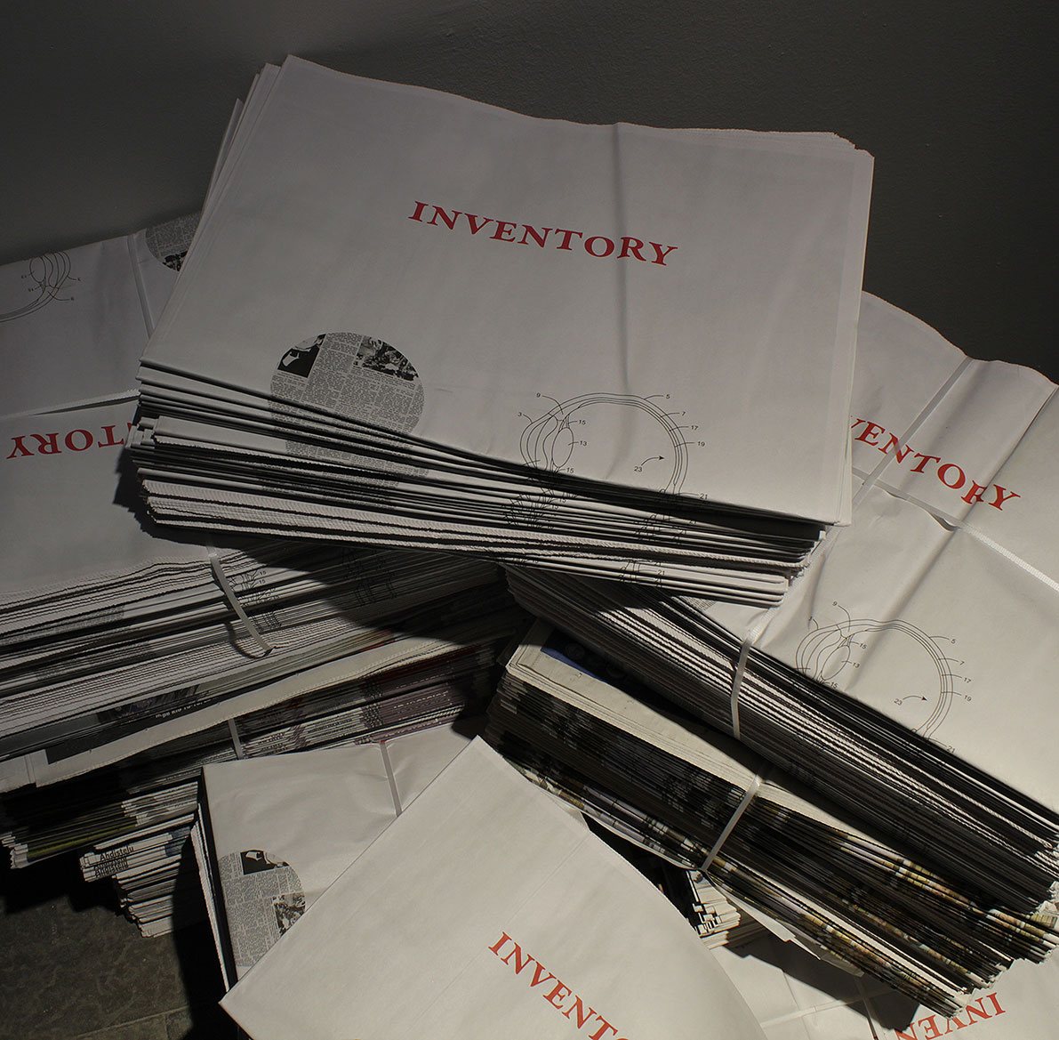 Inventory, Broadsheet newspaper