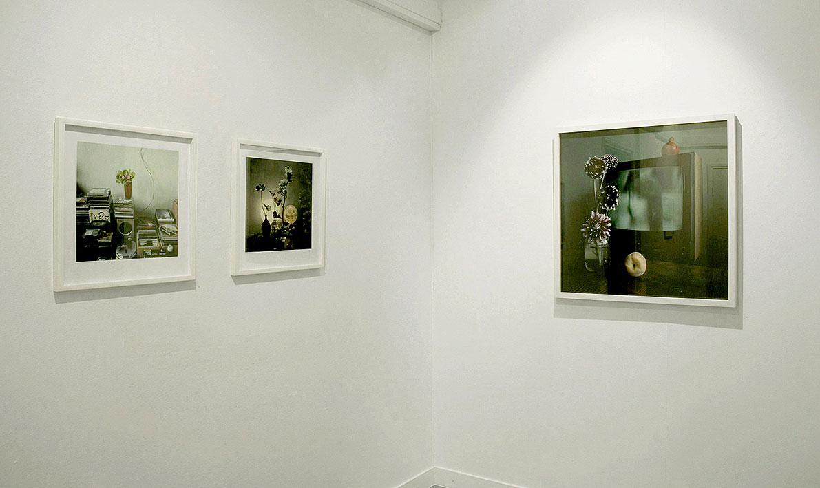 Series of photographs: If inside is let in, 2007, C-print mounted on aluminium, 75x75 cm and 47x45 cm