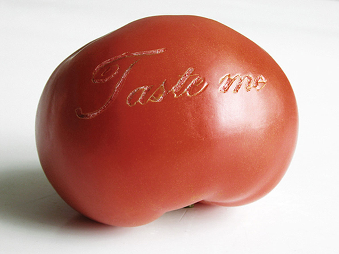 Taste Me I, 2004, lambda duratrans, lighbox 38 x 48 cm
