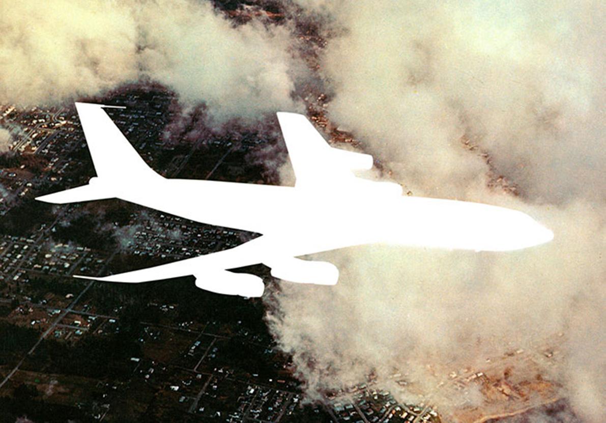 Varig (Boeing 707),  72 x 102,5 x 8 cm