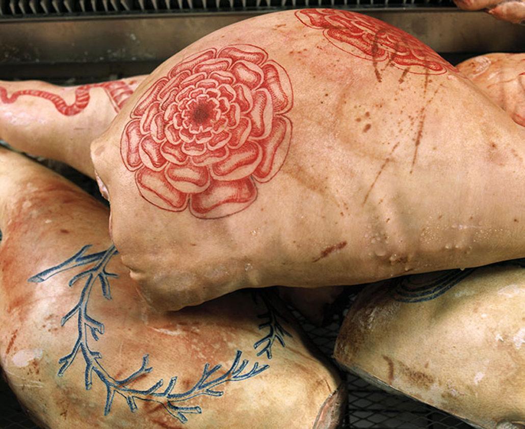 Carnation, detail
