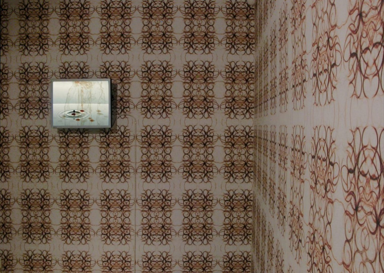 LCD-screen, DVD, wallpaper
