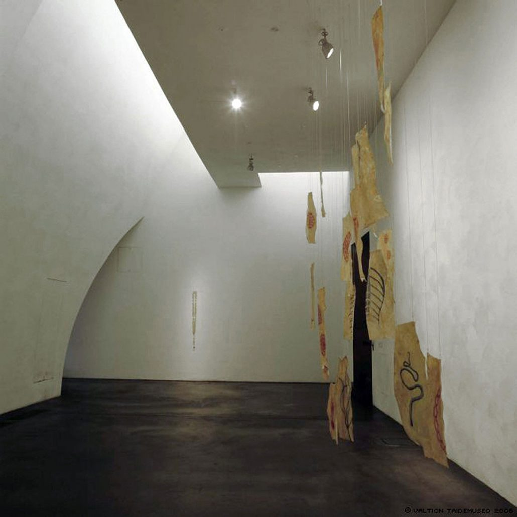 Installation view at Kiasma